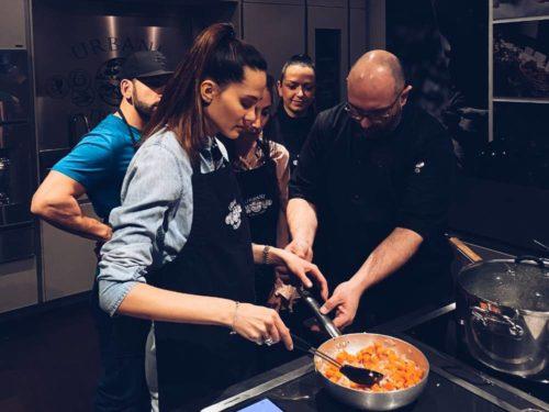 urbani truffle lab cooking